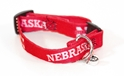 Huskers Kitty Collar Nebraska cornhuskers, husker football, nebraska merchandise, husker merchandise, husker pet collar, husker cat collar, nebraska pet collar, nebraska cat collar