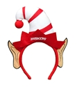 Huskers Elf Ears Headband Nebraska Cornhuskers, Nebraska  Holiday Items, Huskers  Holiday Items, Nebraska  Novelty, Huskers  Novelty, Nebraska Huskers Elf Ears Headband, Huskers Huskers Elf Ears Headband