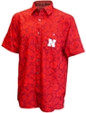 Huskers Hawaiian Camp Shirt Nebraska Cornhuskers, Nebraska  Mens Polos, Huskers  Mens Polos, Nebraska Polos, Huskers Polos, Nebraska Red Hawaiian Camp Shirt Col, Huskers Red Hawaiian Camp Shirt Col
