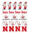 Huskers MultiCal Combo Sheet Set Nebraska Cornhuskers, Nebraska Stickers Decals & Magnets, Huskers Stickers Decals & Magnets, Nebraska  Toys & Games, Huskers  Toys & Games, Nebraska Huskers MultiCal Combo Sheet Set, Huskers Huskers MultiCal Combo Sheet Set
