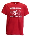 Huskers National Champ Year Volleyball Tee Nebraska Cornhuskers, Nebraska  Mens T-Shirts, Huskers  Mens T-Shirts, Nebraska  Mens, Huskers  Mens, Nebraska  Short Sleeve, Huskers  Short Sleeve, Nebraska Volleyball, Huskers Volleyball, Nebraska Red SS Volleyball Champ Years Cornborn Tee, Huskers Red SS Volleyball Champ Years Cornborn Tee