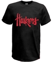 Huskers Script Tee - Black Nebraska Cornhuskers, Nebraska  Mens T-Shirts, Huskers  Mens T-Shirts, Nebraska  Mens, Huskers  Mens, Nebraska  Short Sleeve, Huskers  Short Sleeve, Nebraska  Ladies T-Shirts, Huskers  Ladies T-Shirts, Nebraska  Ladies, Huskers  Ladies, Nebraska Huskers Script Tee - Black, Huskers Huskers Script Tee - Black