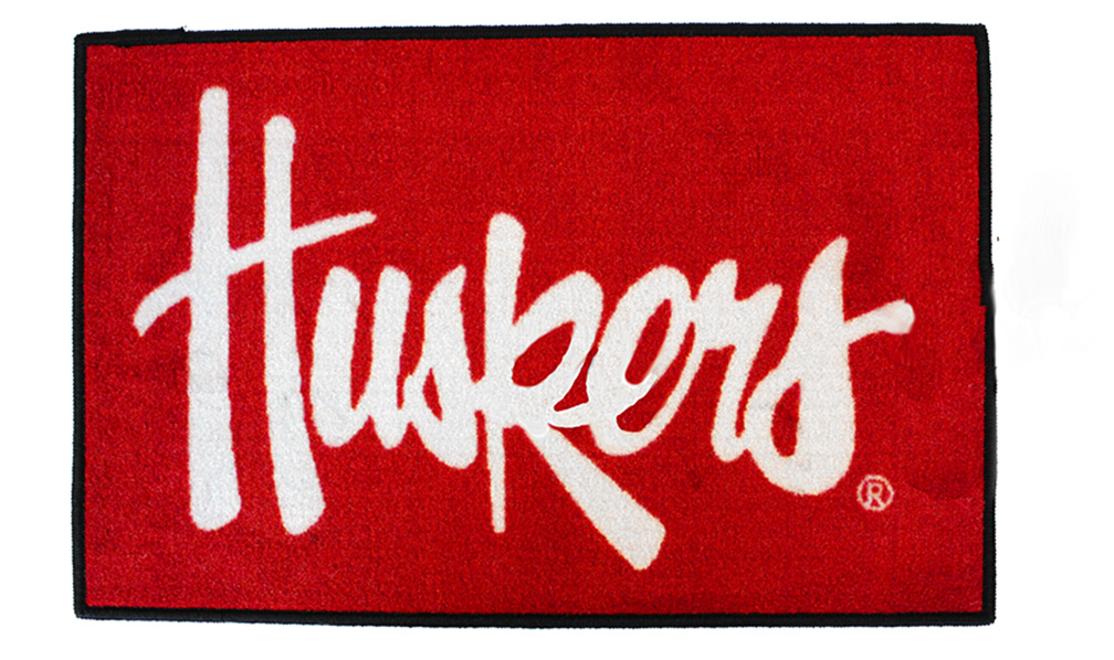 Huskers Starter Rug Nebraska Cornhuskers, Nebraska  Game Room & Big Red Room, Huskers  Game Room & Big Red Room, Nebraska  Office Den & Entry, Huskers  Office Den & Entry, Nebraska  Bedroom & Bathroom, Huskers  Bedroom & Bathroom, Nebraska All-Star, Huskers All-Star