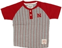Toddler Pinstripe Jersey Tee Nebraska Cornhuskers, Nebraska  Toddler, Huskers  Toddler, Nebraska  Childrens, Huskers  Childrens, Nebraska  Kids Jerseys, Huskers  Kids Jerseys, Nebraska  Short Sleeve, Huskers  Short Sleeve, Nebraska Toddler Grey Pinstripe Jersey Tee, Huskers Toddler Gray Pinstripe Jersey