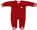Infant Boys Stripe Footed Creeper Nebraska Cornhuskers, Nebraska  Infant, Huskers  Infant, Nebraska  Kids, Huskers  Kids, Nebraska  Short Sleeve , Huskers  Short Sleeve , Nebraska Infant Boys Stripe Footed Creeper, Huskers Infant Boys Stripe Footed Creeper