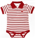 Infant Collared Huskers Striped Creeper Nebraska Cornhuskers, Nebraska  Infant, Huskers  Infant, Nebraska  Kids, Huskers  Kids, Nebraska  Short Sleeve , Huskers  Short Sleeve , Nebraska Infant Boys Stripe Golf Shirt Creeper, Huskers Infant Boys Stripe Golf Shirt Creeper