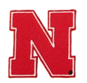 Iron N 4 Inch Patch Nebraska Cornhuskers, Iron N Patch 4 Inch