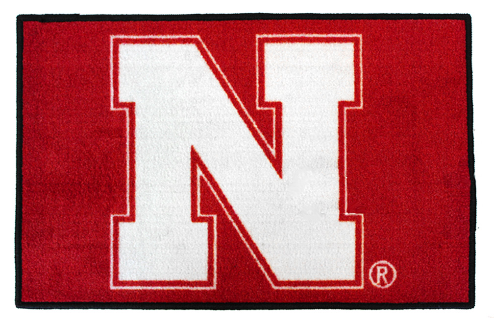 Iron N Starter Rug Nebraska Cornhuskers, Nebraska  Game Room & Big Red Room, Huskers  Game Room & Big Red Room, Nebraska  Office Den & Entry, Huskers  Office Den & Entry, Nebraska  Bedroom & Bathroom, Huskers  Bedroom & Bathroom, Nebraska All-Star, Huskers All-Star