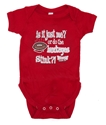Is it just me? or do the Hawkeyes stink? Creeper Nebraska Cornhuskers, Nebraska  Infant, Huskers  Infant, Nebraska Onesie, Husker Creeper