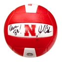 John Cook Autographed Huskers Volleyball Nebraska Cornhuskers, husker volleyball, nebraska cornhuskers merchandise, husker merchandise, nebraska merchandise, husker memorabilia, husker autographed, nebraska cornhuskers autographed, John Cook autographed, John Cook signed, John Cook collectible, John Cook, nebraska cornhuskers memorabilia, nebraska cornhuskers collectible, John Cook Autographed  Volleyball