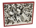 Kenny Walker Autographed Print Nebraska Cornhuskers, Mike Singletary Autographed Photo
