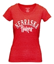 Ladies Arch Nebraska Script Huskers Triblend Nebraska Cornhuskers, Nebraska  Ladies Tops, Huskers  Ladies Tops, Nebraska  Ladies T-Shirts, Huskers  Ladies T-Shirts, Nebraska  Ladies, Huskers  Ladies, Nebraska  Short Sleeve, Huskers  Short Sleeve, Nebraska Ladies Arch Nebraska Script Huskers Triblend, Huskers Ladies Arch Nebraska Script Huskers Triblend
