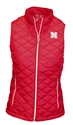 Ladies Nebraska Quilted Colosseum Vest Nebraska Cornhuskers, Nebraska  Ladies Outerwear, Huskers  Ladies Outerwear, Nebraska  Ladies Sweatshirts, Huskers  Ladies Sweatshirts, Nebraska  Ladies, Huskers  Ladies, Nebraska  Zippered, Huskers  Zippered, Nebraska  Ladies Tops, Huskers  Ladies Tops, Nebraska Ladies Nebraska Quilted Colosseum Vest, Huskers Ladies Nebraska Quilted Colosseum Vest