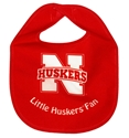 Lil Huskers Fan All Pro Bib Nebraska Cornhuskers, Nebraska  Infant, Huskers  Infant, Nebraska Lil Huskers Fan All Pro Bib, Huskers Lil Huskers Fan All Pro Bib