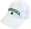 Lily White Nebraska St. Pattys Cap Nebraska Cornhuskers, Nebraska  Mens Hats, Huskers  Mens Hats, Nebraska  Mens Hats, Huskers  Mens Hats, Nebraska  Ladies Hats, Huskers  Ladies Hats, Nebraska  Ladies Hats, Huskers  Ladies Hats, Nebraska White Washed EZA 3 Leaf Clover Legacy, Huskers White Washed EZA 3 Leaf Clover Legacy