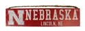 Lincoln Nebraska Wood Sign Nebraska Cornhuskers, N Huskers Lincoln Nebraska Wood Sign