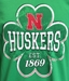 Lucky Huskers Iron N Clover Tee - AT-C5053