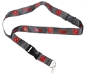 N Huskers Breakaway Lanyard Nebraska Cornhuskers, Nebraska  Ladies, Huskers  Ladies, Nebraska  Mens, Huskers  Mens, Nebraska  Mens Accessories, Huskers  Mens Accessories, Nebraska  Ladies Accessories, Huskers  Ladies Accessories, Nebraska Gray Red Breakaway Lanyard, Huskers Gray Red Breakaway Lanyard