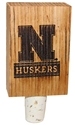 N Huskers Wood Bottle Stop Nebraska Cornhuskers, Nebraska  Office Den & Entry, Huskers  Office Den & Entry, Nebraska  Game Room & Big Red Room, Huskers  Game Room & Big Red Room, Nebraska  Kitchen & Glassware, Huskers  Kitchen & Glassware, Nebraska N Huskers Wood Bottle Stop, Huskers N Huskers Wood Bottle Stop