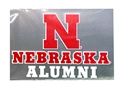 Nebraska Alumni Decal Nebraska Cornhuskers, Nebraska Vehicle, Huskers Vehicle, Nebraska Stickers Decals & Magnets, Huskers Stickers Decals & Magnets, Nebraska Nebraska Alumni Decal, Huskers Nebraska Alumni Decal