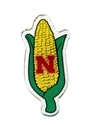 Nebraska Corn Cob Magnet Nebraska Cornhuskers, Nebraska Stickers Decals & Magnets, Huskers Stickers Decals & Magnets, Nebraska Nebraska Corn Cob Magnet, Huskers Nebraska Corn Cob Magnet