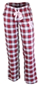 Nebraska Gals Plaid Sleepy Pants Nebraska Cornhuskers, Nebraska  Ladies Underwear & PJs, Huskers  Ladies Underwear & PJs, Nebraska Red W Forge Plaid Sleep Pants, Huskers Red W Forge Plaid Sleep Pants