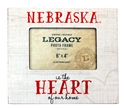 Nebraska Heart Wooden Picture Frame Nebraska Cornhuskers, Nebraska  Framed Pieces, Huskers  Framed Pieces, Nebraska  Office Den & Entry, Huskers  Office Den & Entry, Nebraska Nebraska Heart Wood Picture Frame Legacy, Huskers Nebraska Heart Wood Picture Frame Legacy