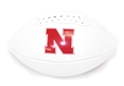 Nebraska Huskers Mini Autograph Football w Pen Nebraska Cornhuskers, Junior Softgrip Ball