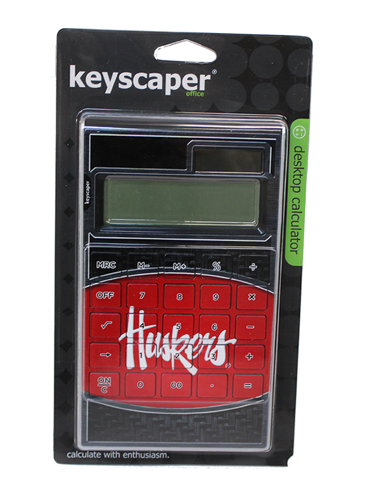 Nebraska Huskers Primary Calculator Nebraska Cornhuskers, Nebraska  Office Den & Entry, Huskers  Office Den & Entry, Nebraska Nebraska Huskers Primary Calculator, Huskers Nebraska Huskers Primary Calculator