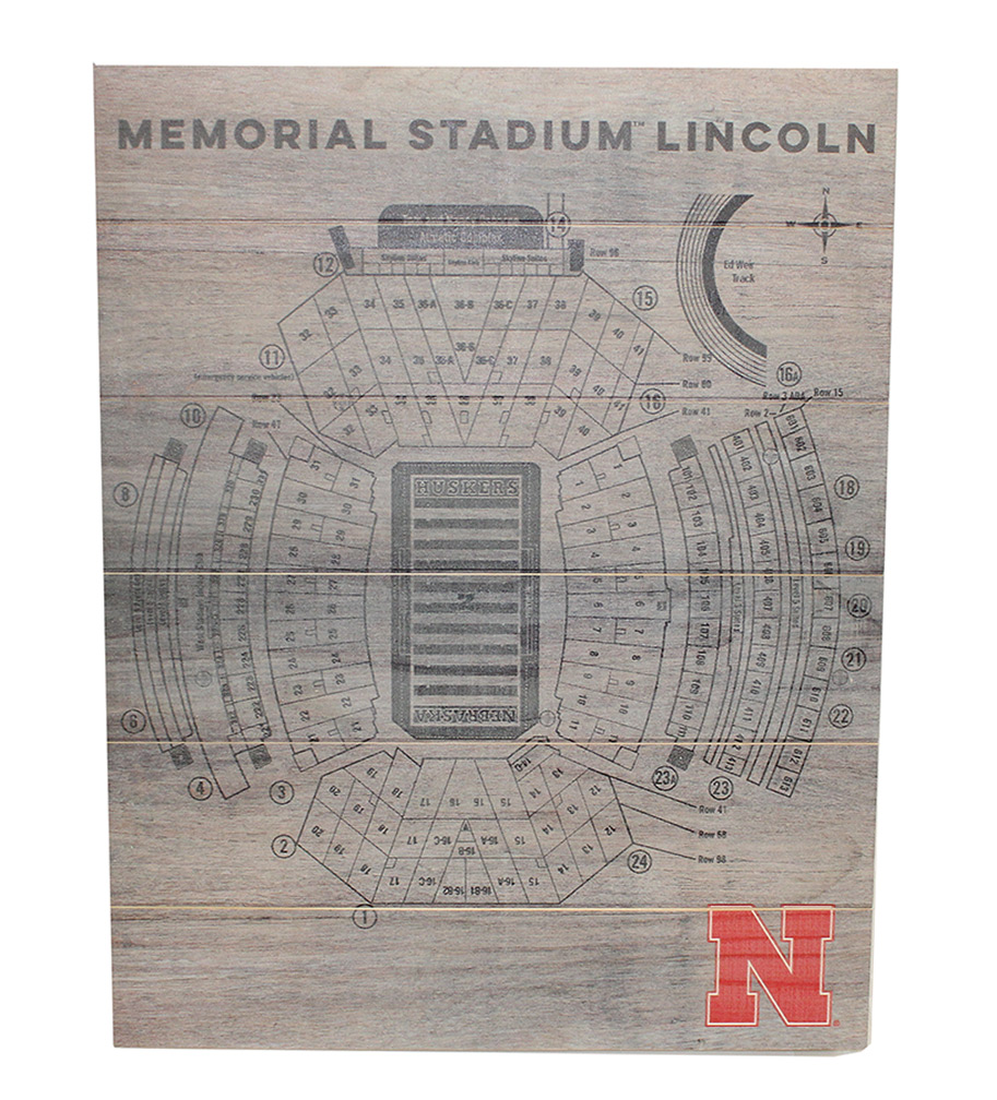Nebraska Memorial Stadium Seating Pallet Nebraska Cornhuskers, Nebraska  Game Room & Big Red Room, Huskers  Game Room & Big Red Room, Nebraska  Office Den & Entry, Huskers  Office Den & Entry, Nebraska Nebraska Memorial Stadium Seating Pallet, Huskers Nebraska Memorial Stadium Seating Pallet