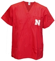 Nebraska Scrub Top Nebraska Cornhuskers, Nebraska Mens Polo%27s, Huskers Mens Polo%27s, Nebraska   Ladies Tops, Huskers   Ladies Tops, Nebraska Nebraska Scrub Top, Huskers Nebraska Scrub Top