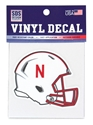 Nebraska Speed Helmet Decal Nebraska Cornhuskers, Nebraska Stickers Decals & Magnets, Huskers Stickers Decals & Magnets, Nebraska Nebraska Helmet Decal 3 Inch, Huskers Nebraska Helmet Decal 3 Inch