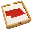Nebraska State Outline Coaster Wood Base Set Nebraska Cornhuskers, Nebraska  Kitchen & Glassware, Huskers  Kitchen & Glassware, Nebraska  Game Room & Big Red Room, Huskers  Game Room & Big Red Room, Nebraska  Office Den & Entry, Huskers  Office Den & Entry, Nebraska Nebraska State Outline Coaster Wood Base Set, Huskers Nebraska State Outline Coaster Wood Base Set