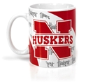 Nebraska Vortex Mug Nebraska Cornhuskers, Nebraska Kitchen & Glassware, Huskers Kitchen & Glassware, Nebraska Vehicle, Huskers Vehicle, Nebraska Nebraska Vortex Mug, Huskers Nebraska Vortex Mug