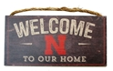 Nebraska Welcome Wood Sign Nebraska Cornhuskers, N Huskers Nebraska Welcome Wood Sign