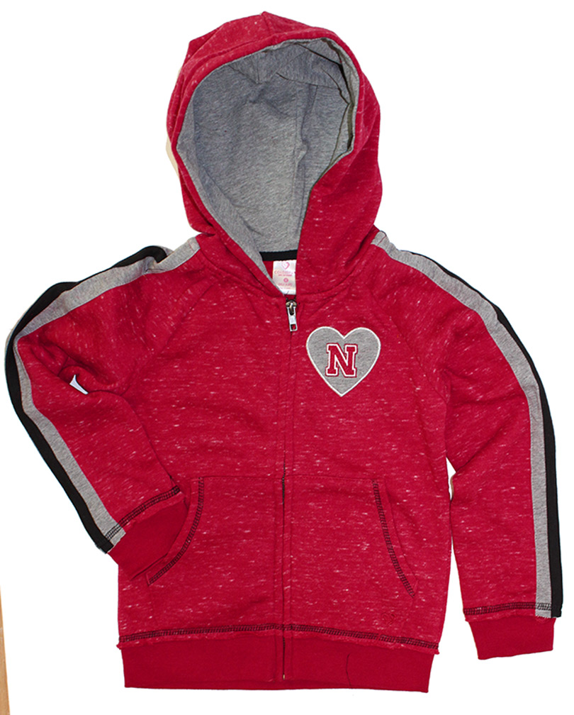 Nebraska Young Ladies Heart N Full Zip Tai Hoodie Nebraska Cornhuskers, Nebraska  Youth, Huskers  Youth, Nebraska  Kids, Huskers  Kids, Nebraska  Hoodies, Huskers  Hoodies, Nebraska Nebraska Young Ladies Heart N Full Zip Tai Hoodie, Huskers Nebraska Young Ladies Heart N Full Zip Tai Hoodie