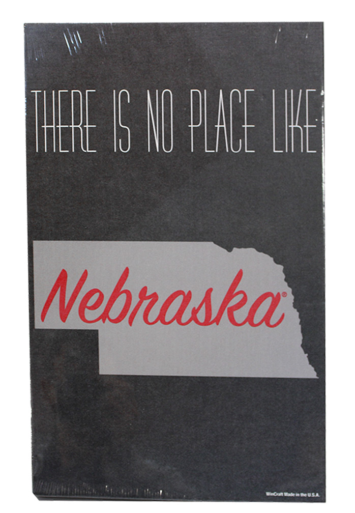 No Place Like Nebraska State Wood Sign Nebraska Cornhuskers, Nebraska  Game Room & Big Red Room, Huskers  Game Room & Big Red Room, Nebraska  Framed Pieces, Huskers  Framed Pieces, Nebraska No Place Like Nebraska State Wood Sign, Huskers No Place Like Nebraska State Wood Sign