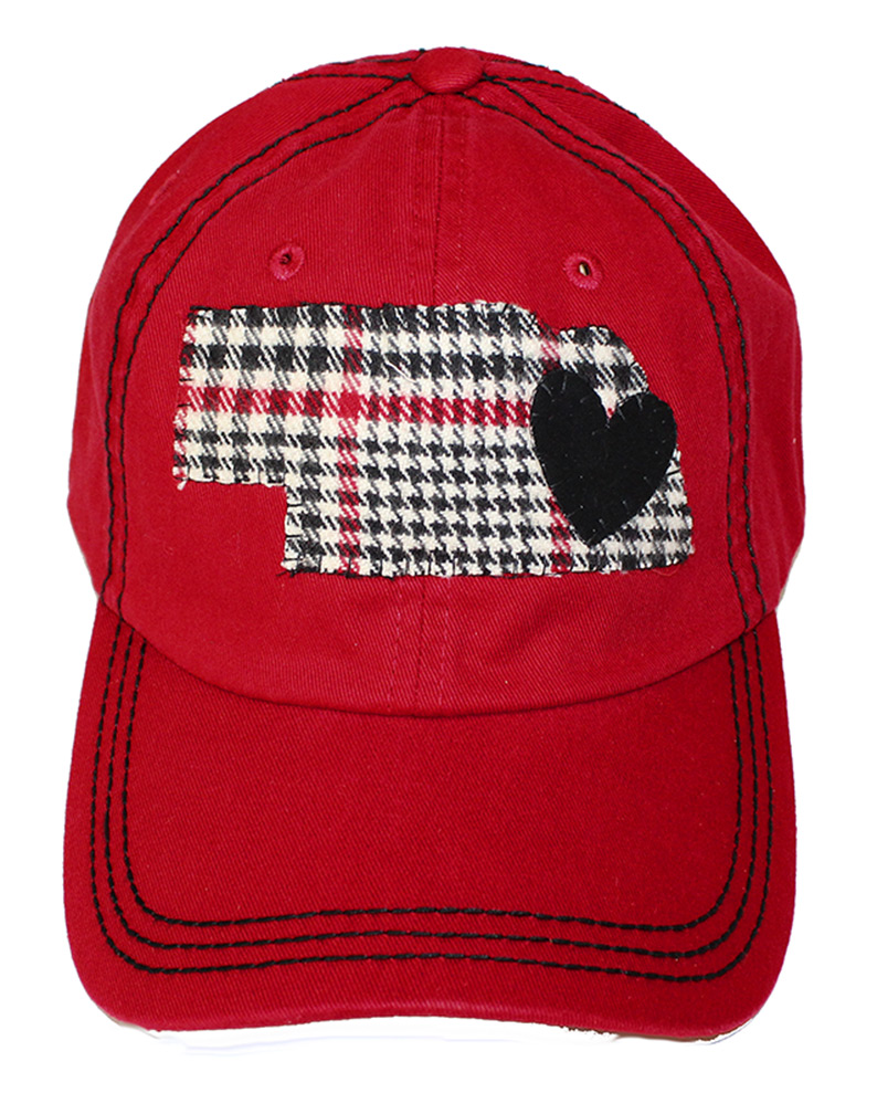 Plaid Nebraska State Heart Slouch Nebraska Cornhuskers, Nebraska  Ladies Hats, Huskers  Ladies Hats, Nebraska  Ladies Hats, Huskers  Ladies Hats, Nebraska Plaid Nebraska State Heart Slouch, Huskers Plaid Nebraska State Heart Slouch