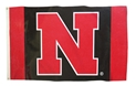 Red N Black Husker Flag Nebraska Cornhuskers, Nebraska  Flags & Windsocks, Huskers  Flags & Windsocks, Nebraska  Flags & Windsocks, Huskers  Flags & Windsocks, Nebraska Red N Black Husker Flag, Huskers Red N Black Husker Flag