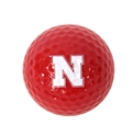 Red Single Golf Ball Iron N Nebraska Cornhuskers, husker football, nebraska cornhuskers merchandise, husker merchandise, nebraska merchandise, nebraska cornhuskers golf accessories, husker golf accessories, nebraska golf accessories, nebraska golf merchandise, husker golf merchandise, nebraska cornhuskers golf merchandise, Golf Balls