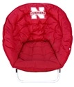 Husker Sphere Chair Nebraska Cornhuskers, Sphere Chair W/ New Logo
