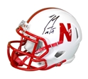 Scott Frost Autographed Huskers Mini Speed Helmet Nebraska Cornhuskers, husker football, nebraska cornhuskers merchandise, husker merchandise, nebraska merchandise, husker memorabilia, husker autographed, nebraska cornhuskers autographed, Scott Frost autographed, Scott Frost signed, Scott Frost collectible, Scott Frost, nebraska cornhuskers memorabilia, nebraska cornhuskers collectible, Scott Frost Autographed Football