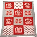 Go BIG Red Quilt Blanket Nebraska Cornhuskers, Nebraska  Tailgating, Huskers  Tailgating, Nebraska  Bedroom & Bathroom, Huskers  Bedroom & Bathroom, Nebraska  Comfy Stuff, Huskers  Comfy Stuff, Nebraska  Game Room & Big Red Room, Huskers  Game Room & Big Red Room, Nebraska  Office Den & Entry, Huskers  Office Den & Entry, Nebraska T-Shirt Style Husker Blanket League, Huskers T-Shirt Style Husker Blanket League