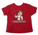 Toddlers Lil Red Tee Nebraska Cornhuskers, Nebraska  Childrens, Huskers  Childrens, Nebraska  Kids, Huskers  Kids, Nebraska  Short Sleeve, Huskers  Short Sleeve, Nebraska Toddlers Lil Red Tee, Huskers Toddlers Lil Red Tee