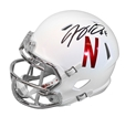 Tommy Armstrong Jr Alternate Mini Speed Helmet Nebraska Cornhuskers, Nebraska  Former Players, Huskers  Former Players, Nebraska  Balls & Helmets, Huskers  Balls & Helmets, Nebraska Collectibles , Huskers Collectibles , Nebraska Armstrong Jr Autographed Mini Speed Helmet, Huskers Armstrong Jr Autographed Mini Speed Helmet