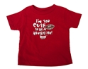 Too Cute to be a Hawkeyes Fan Toddler Tee Nebraska Cornhuskers, Nebraska  Childrens, Huskers  Childrens, Nebraska  Kids, Huskers  Kids, Nebraska Toddler, Huskers Nebraska Toddler