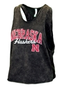 Womens Huskers Mineral Washed Muscle Tee Nebraska Cornhuskers, Nebraska  Ladies Tops, Huskers  Ladies Tops, Nebraska  Tank Tops, Huskers  Tank Tops, Nebraska  Ladies, Huskers  Ladies, Nebraska Womens Huskers Mineral Washed Muscle Tee, Huskers Womens Huskers Mineral Washed Muscle Tee