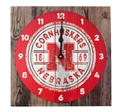 Nebraska Cornhuskers Old Fence Clock Nebraska Cornhuskers, Nebraska  Framed Pieces, Huskers  Framed Pieces, Nebraska  Office Den & Entry, Huskers  Office Den & Entry, Nebraska  Game Room & Big Red Room, Huskers  Game Room & Big Red Room, Nebraska Wood Plank Cornhuskers Clock Legacy, Huskers Wood Plank Cornhuskers Clock Legacy