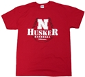 Red Baseball Tee Nebraska Cornhuskers, Nebraska  Mens T-Shirt, Huskers  Mens T-Shirt, Nebraska  Short Sleeve, Huskers  Short Sleeve, Nebraska  Mens, Huskers  Mens, Nebraska  Baseball   , Huskers  Baseball   , Nebraska Mens Red Baseball Tee, Huskers Mens Red Baseball Tee