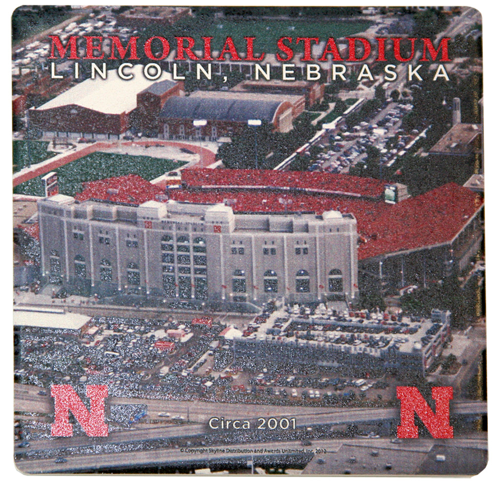 2001 Memorial Stadium Coaster Nebraska Cornhuskers, Nebraska Collectibles, Huskers Collectibles, Nebraska Home & Office, Huskers Home & Office, Nebraska  Game Room & Big Red Room, Huskers  Game Room & Big Red Room, Nebraska  Kitchen & Glassware, Huskers  Kitchen & Glassware, Nebraska  Office Den & Entry, Huskers  Office Den & Entry, Nebraska  Patio, Lawn & Garden, Huskers  Patio, Lawn & Garden, Nebraska 2001 Memorial Stadium Coaster, Huskers 2001 Memorial Stadium Coaster